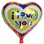 "Mytex 18"" Inch I Love You Heart Shape Colorful Hearts Balloon"
