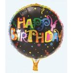 "Mytex 18"" Inch Happy Birthday Colorful Wordings Balloon"