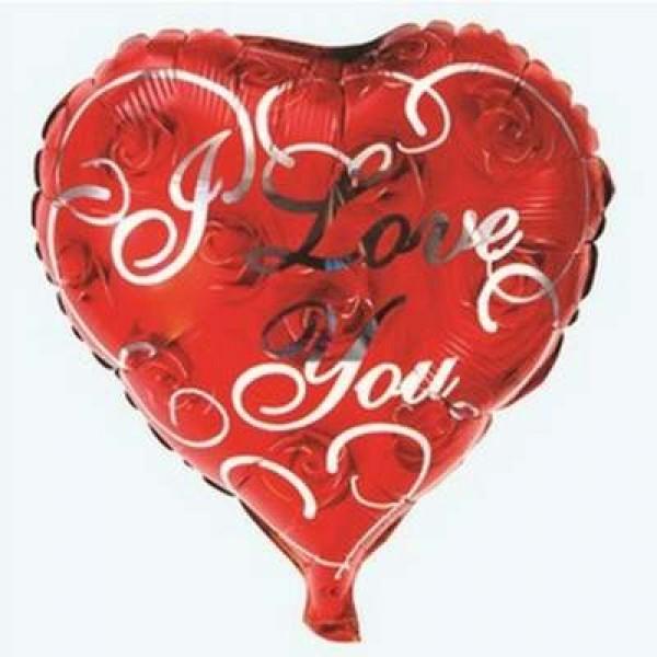 Mytex 18 Inch I Love You Heart Shape Roses Balloon