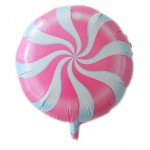"""Mytex 17"""" Inch Lollipops Pink Candy Swirl Party Balloon"""