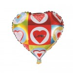 Mytex 18 Inch Multi Love Heart Shape