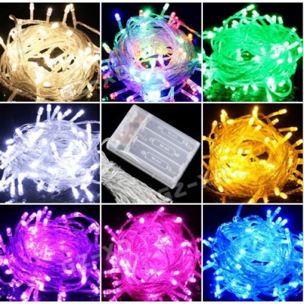 LED Light - Mytex 50 Led String Battery Powered ~ 5m