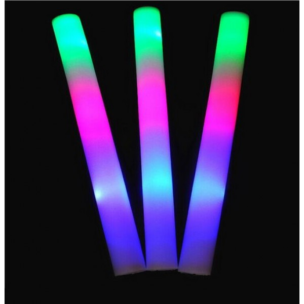 led colorful sponge flash stick from category led light. Black Bedroom Furniture Sets. Home Design Ideas
