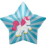 "Northstar Unicorn Starburst 22"" Inch Balloon ~ Pony"
