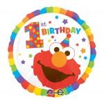 Anagram 17 Inch Sesame Street Elmo 1st Birthday