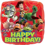 Anagram 17 Inch Toy Story Gang Happy Birthday