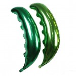 """Mytex 36"""" Inch Palm Frond Leaves Shaped Foil Balloons"""
