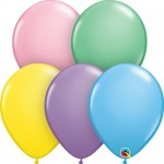 Qualatex 11 Inch Pastel Assorted Latex Balloon - 25pcs