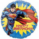 Anagram 17 Inch Superman-HBD Balloon
