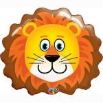 "Qualatex 29"" Inch Lovable Lion SuperShape Balloon"