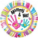 Qualatex 18 Inch Mommy & Me Handprints