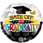 Qualatex 18 Inch Hats Off to the Graduate