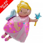Northstar 14 Inch Fairy Godmother Air-Fill Foil Balloon