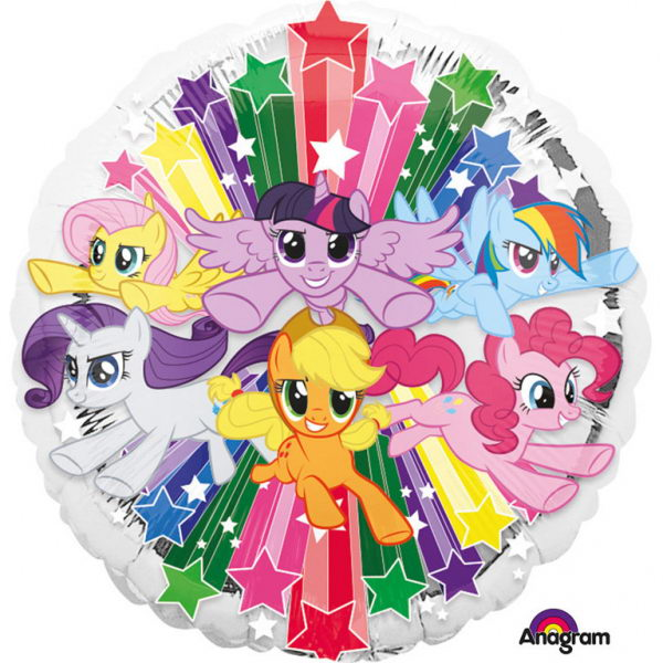Character Balloons - Anagram 18 Inch My Little Pony Gang Foil Balloon