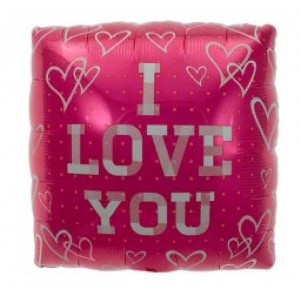 Love & Affection - NorthStar 18 Inch Plaid Love Square Balloon