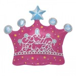 Northstar 25 Inch Pretty Princess Crown Balloon
