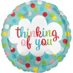 Anagram 18 Inch Thinking Of You Dots Balloon