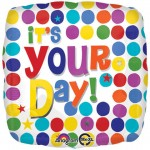 Anagram 18 Inch It's Your Day Multi Dots