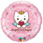 Qualatex 18 Inch Angel Cat Sugar