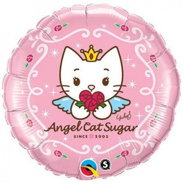 Character Balloons - Qualatex 18 Inch Angel Cat Sugar