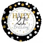 CTI 17 Inch Happy 21st Birthday