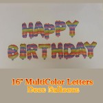 16 Inch Happy Birthday Letters Deco Set ~ 13pcs