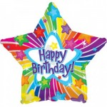 CTI 17 Inch Happy Birthday Bright Stars