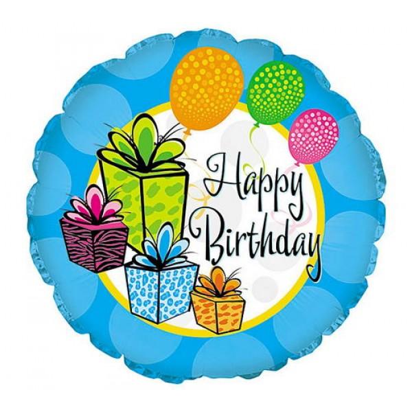 Birthday Balloons - CTI 17 Inch Happy Birthday Gifts
