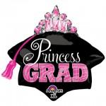 Anagram 26 Inch Princess Grad Tiara Graduation Balloon