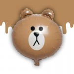 Popular 16 Inch Line Friends Brown Bear