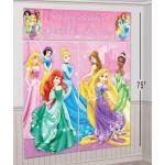Amscan Disney Princess Happy Birthday Scene Setter 6ft