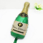 Mytex Champagne Bottle Mini Shape Balloon ~ 5pcs
