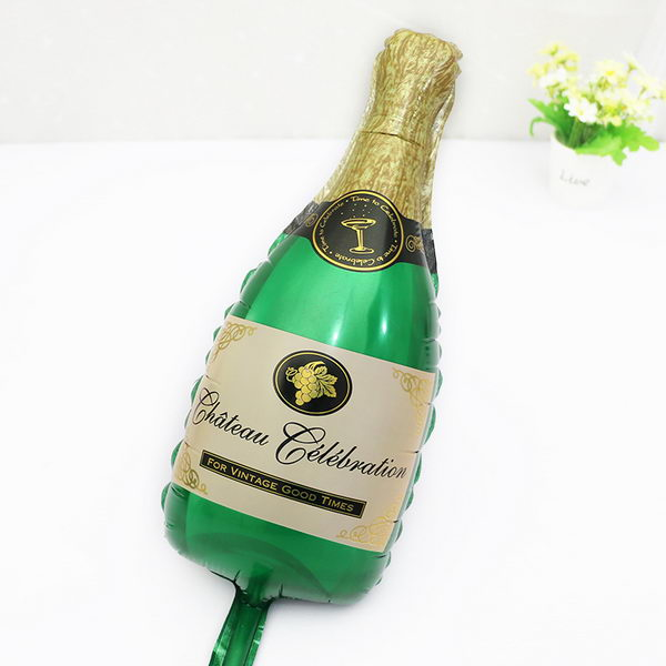 Decorator & Themed - Mytex Champagne Bottle Mini Shape Balloon ~ 5pcs