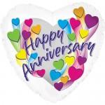 CTI 17 Inch Anniversary Shooting Hearts Balloon