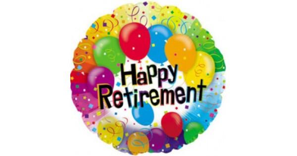 cti 17 inch happy retirement balloon