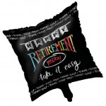 CTI 17 Inch Retirement Chalk Foil Balloon