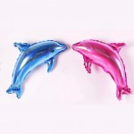 Mytex Dolphin Mini Shape Foil Balloon ~ 5pcs