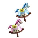 Mytex Baby Rocking Horse Mini Foil ~ 5pcs