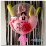 "24"" Inch Custom Design Bubble Balloon With Helium and Delivery"