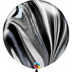 Qualatex 30 inch Black And White Superagate
