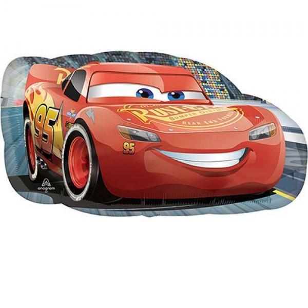 Character Balloons - Disney 30 Inch Car 3 Lightning McQueen SuperShape