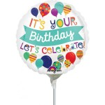 Anagram 9 inch Let Celebrate