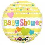 Anagram 18 Inch Baby Shower Yellow