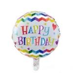 Mytex 18 Inch Happy Birthday Waves Hearts
