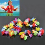 Mytex Hawaiian Flower Garland ~ 4pcs
