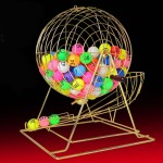 Bingo Lottery Machine For Party And Events ~ 100 numbers