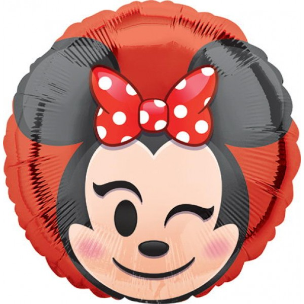 Character Balloons - Anagram 17 Inch Minnie Mouse Emoji
