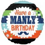 Anagram 17 Inch Manly Birthday