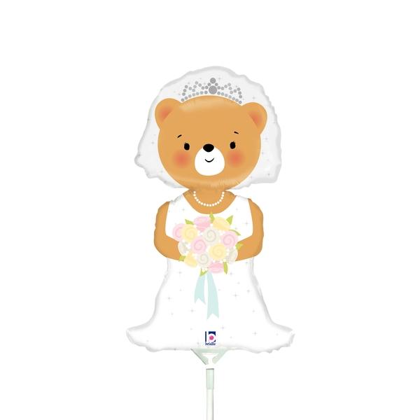 Wedding - Betallic 14 Inch Mini Shape Bride Bear