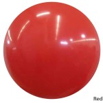 60 Inch 5FT Round Balloons - 60 Inch 5ft Jambo Latex Round Balloon ~ Red
